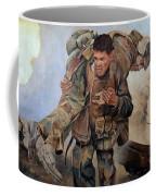 29 Palms Mural 3 Coffee Mug by Bob Christopher