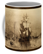 Historic Seaport Schooner Coffee Mug by John Stephens