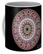 Kaleidoscope Colorful Jeweled Rhinestones Coffee Mug by Amy Cicconi