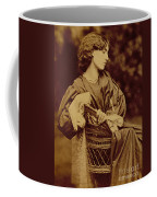 Portrait Of Jane Morris Coffee Mug by John Parsons