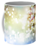 Starry Background Coffee Mug by Les Cunliffe