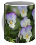 Viola Named Sorbet Lemon Blueberry Swirl Coffee Mug by J McCombie
