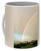 Rainbow Coffee Mug by Les Cunliffe