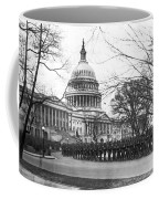 63rd Infantry Ready In Dc Coffee Mug by Underwood Archives