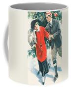Christmas Card Coffee Mug by American School