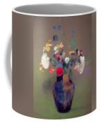Vase Of Flowers Coffee Mug by Odilon Redon