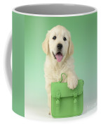 9 - 5 Retriever Dp914sq Coffee Mug by Greg Cuddiford