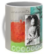 Namaste Coffee Mug by Linda Woods