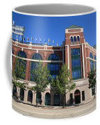 Texas Rangers Ballpark In Arlington Coffee Mug by Frank Romeo