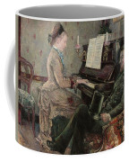 A Captive Audience Coffee Mug by Frederic Samuel Cordey