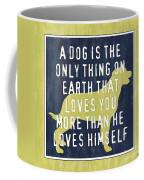 A Dog... Coffee Mug by Debbie DeWitt