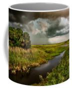 A Glow On The Marsh Coffee Mug by Christopher Holmes