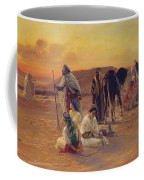 A Rest In The Desert Coffee Mug by Otto Pilny