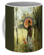 A Summer Stroll Coffee Mug by Albert Lynch