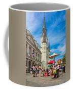 A Sunny Afternoon In Jackson Square Coffee Mug by Steve Harrington