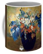 A Vase Of Flowers Coffee Mug by Paul Gauguin