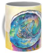 Abalone Shell Tropical Color Coffee Mug by Carlin Blahnik