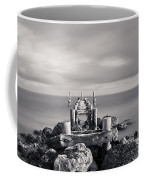Abandoned Pier Coffee Mug by Adam Romanowicz
