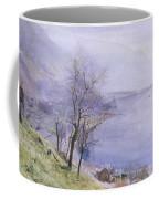 Above Montreux Coffee Mug by John William Inchbold