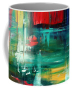 Abstract Art Colorful Original Painting Bold And Beautiful By Madart Coffee Mug by Megan Duncanson