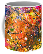 Abstract - Crayon - The Excitement Coffee Mug by Mike Savad