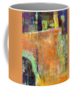 Abstract Painting Simple Pleasure Coffee Mug by Blenda Studio
