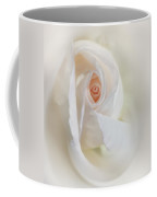 Abstract Pastel Rose Flower Coffee Mug by Jennie Marie Schell