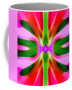 Abstract Pink Tree Symmetry Coffee Mug by Amy Vangsgard