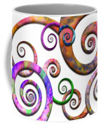 Abstract - Spirals - Planet X Coffee Mug by Mike Savad