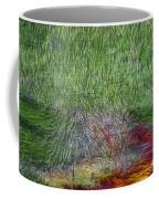 Abstraction Of Life Coffee Mug by Deborah Benoit