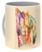Abstractiv Body  Coffee Mug by Mark Ashkenazi