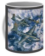 Achtung Zweimots Coffee Mug by Randy Green