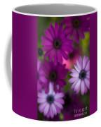 African Daisy Collage Coffee Mug by Mike Reid