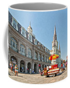 Ahh...new Orleans Sketch Coffee Mug by Steve Harrington