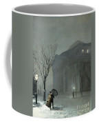 Albany In The Snow Coffee Mug by Walter Launt Palmer