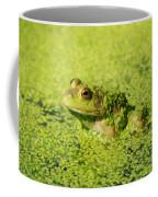 Algae Covered Frog Coffee Mug by Optical Playground By MP Ray