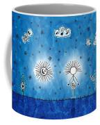 Alien Blue Coffee Mug by Gianfranco Weiss