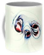 Alien Puppy Coffee Mug by Anastasiya Malakhova