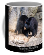 American Black Bear  Coffee Mug by Chris Flees