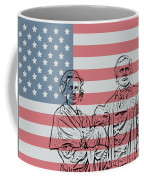 American Patriots Coffee Mug by Dan Sproul