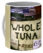 American Whole Tuna Coffee Mug by Jean OKeeffe Macro Abundance Art