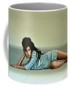 Amy Winehouse 2 Coffee Mug by Paul Meijering