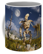 An Advanced Robot On An Exploration Coffee Mug by Stocktrek Images