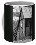 An American Barn Bw Coffee Mug by Steve Harrington