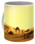An Arab Encampment  Coffee Mug by Charles Theodore Frere