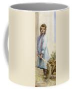 An Italian Peasant Girl Coffee Mug by Ada M Shrimpton