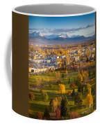 Anchorage Landscape Coffee Mug by Inge Johnsson