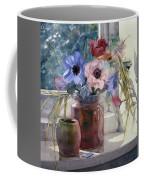 Anemones Coffee Mug by Julia Rowntree