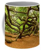 Angel Oak Tree Branches Coffee Mug by Louis Dallara