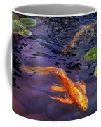 Animal - Fish - There's Something About Koi  Coffee Mug by Mike Savad